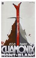 Chamonix Mont Blanc Fine Art Print
