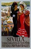 Sevilla 1941 Fine Art Print