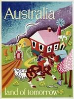 Australia Land of Tomorrow Fine Art Print