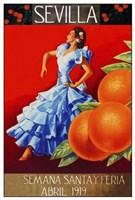 Sevilla 1919 Fine Art Print