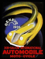 Automobile Geneve 1936 Fine Art Print