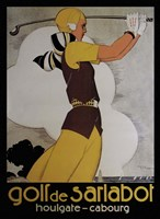 Golf de Sarlabot Fine Art Print
