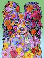 Flowers Papillon Fine Art Print