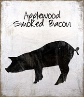 Applewood Smoked Bacon Framed Print