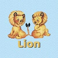 Cute Baby Lions Fine Art Print