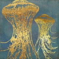 Deep Sea Life IV Framed Print