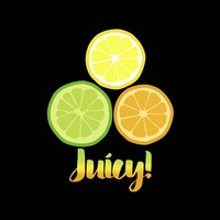 Juicy black Fine Art Print