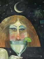 Midnight Margarita Fine Art Print