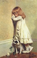 In Disgrace, 1885 Fine Art Print