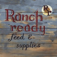 Ranch Ready Fine Art Print