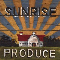 Sunrise Produce Fine Art Print
