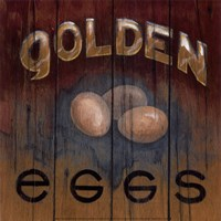 Golden Eggs Fine Art Print
