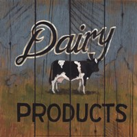 Dairy Products Fine Art Print