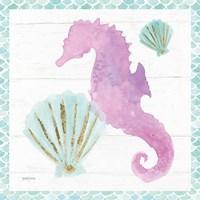 Mermaid Friends VI Fine Art Print