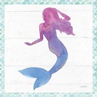 Mermaid Friends III Fine Art Print