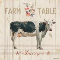 Farm Patchwork V Framed Print