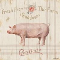 Farm Patchwork VI Fine Art Print