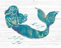 On the Waves II Light Plank Fine Art Print