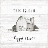 Farm Life IV Shiplap Fine Art Print