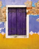 Windows of Burano IV Fine Art Print