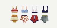Les Bikinis Fine Art Print