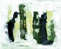 Abstract 1 Green Fine Art Print