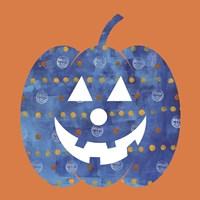 Blue Pumpkin Fine Art Print