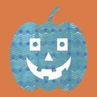 Light Blue Pumpkin Fine Art Print