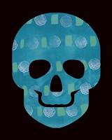 Blue Skull Fine Art Print