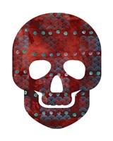 Red Skull Fine Art Print