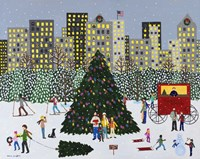 Christmas in the City Fine Art Print