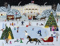 Laura's Victorian Christmas Fine Art Print