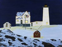 The Nubble Fine Art Print