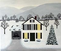A Winters Hush Fine Art Print
