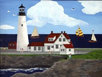Portland Headlight Fine Art Print
