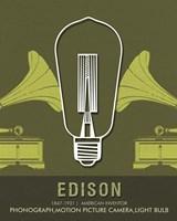 Edison Fine Art Print