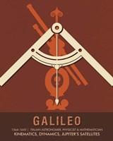 Galileo Fine Art Print