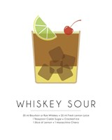 Whiskey Sour Fine Art Print