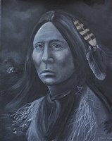 Chief Lone Bear Fine Art Print