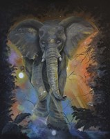 Elephant Dreams Fine Art Print