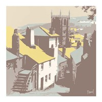 St Ives Barnoon Hill Fine Art Print