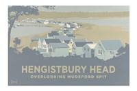 Hengistbury Head Overlooking Mudeford Spit Fine Art Print