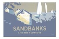 Sandbanks And The Purbecks Landscape Fine Art Print