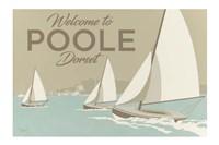 Welcome To Poole Dorset 1 Fine Art Print
