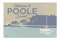 Welcome To Poole Dorset 2 Fine Art Print