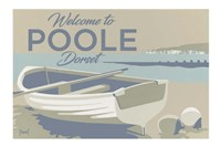 Welcome To Poole Dorset 3 Fine Art Print
