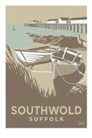 Southwold Boats and Pier Fine Art Print