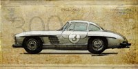 Mercedes 300SL Fine Art Print