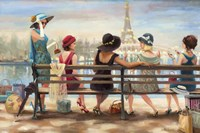 Ladies Day Out Fine Art Print