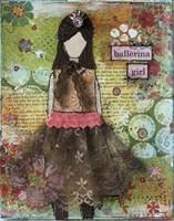 Ballerina Girl Fine Art Print